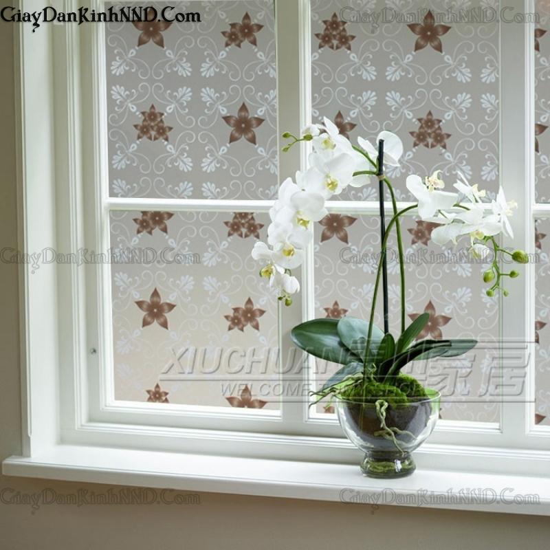 Giấy dán kính trang trí mã A28 trang trí cho cửa sổ đẹp