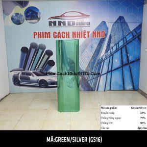 Phim phản quang 3M một chiều mã Green Silver (GS16)
