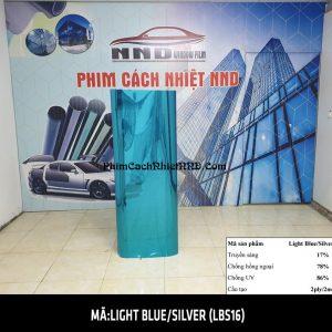 Phim phản quang 3M 1 chiều mã Light Blue Silver (LBS16)