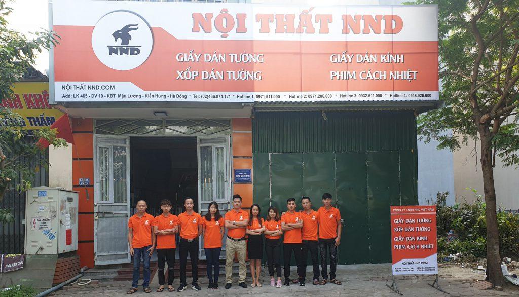 NND là địa chỉ cung cấp và thi công giấy decal dán kính uy tín nhất tại Hà Đông