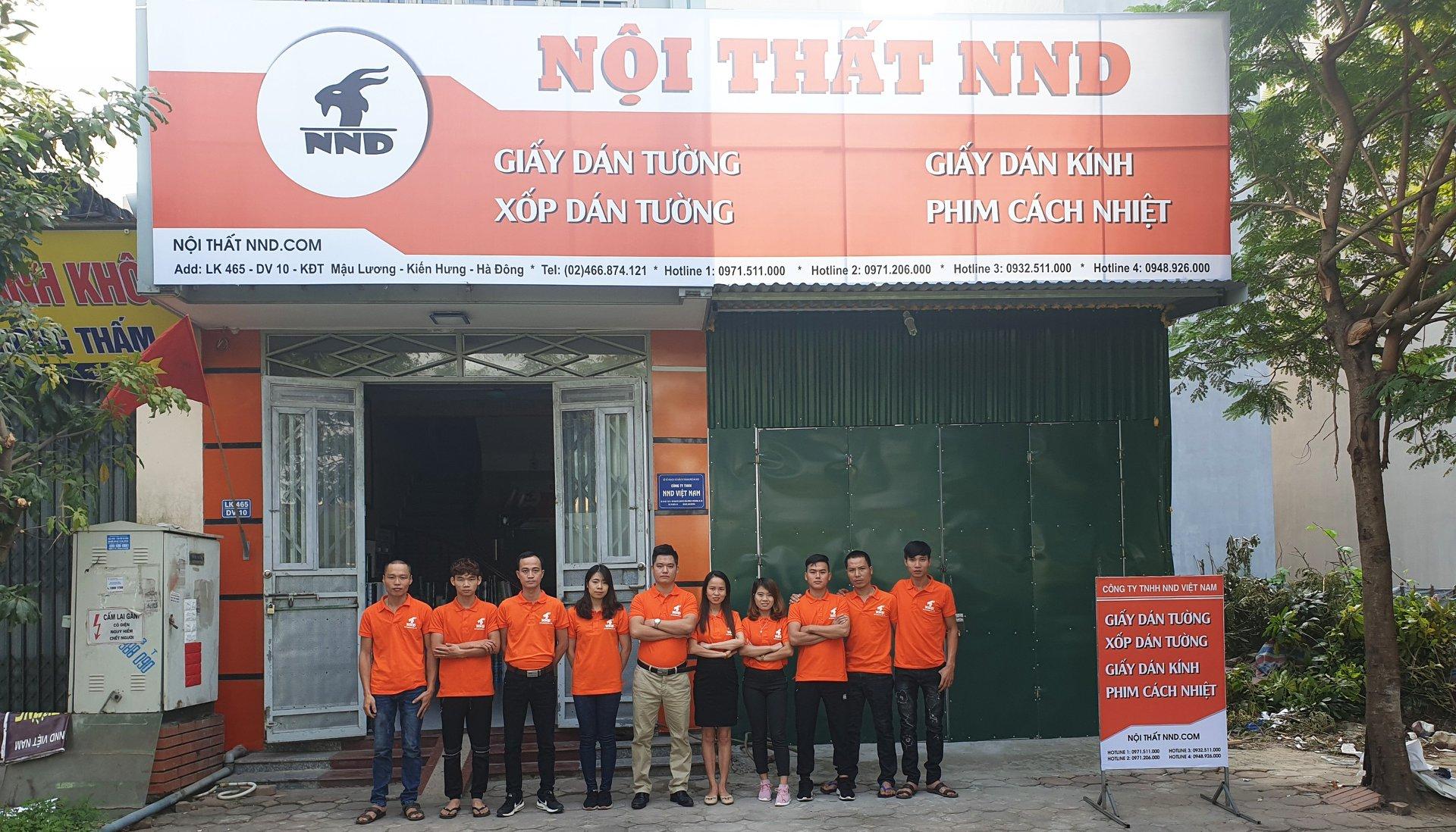 NND là địa chỉ cung cấp và thi công giấy decal dán kính uy tín nhất tại Hà Nội