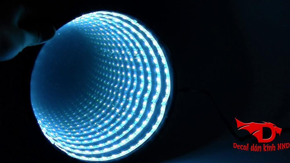 Mẫu đèn led 3D vô cực độc đáo