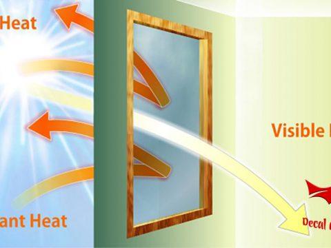 Lợi ích của giấy dán kính chống nắng, decal dán kính cách nhiệt