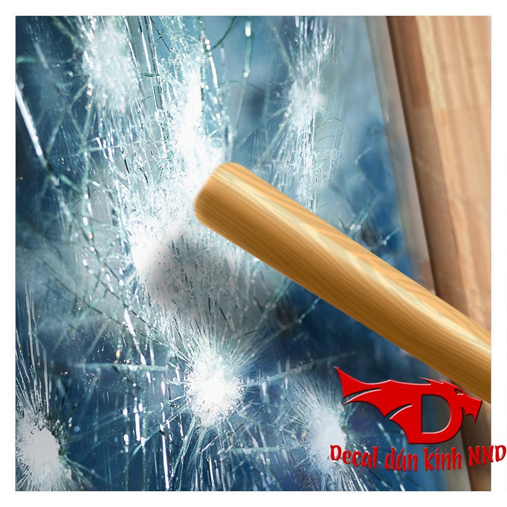 Decal dán kính nói chung đều có tác dụng cường lực và hạn chế rủi do cho kính khi bị vỡ