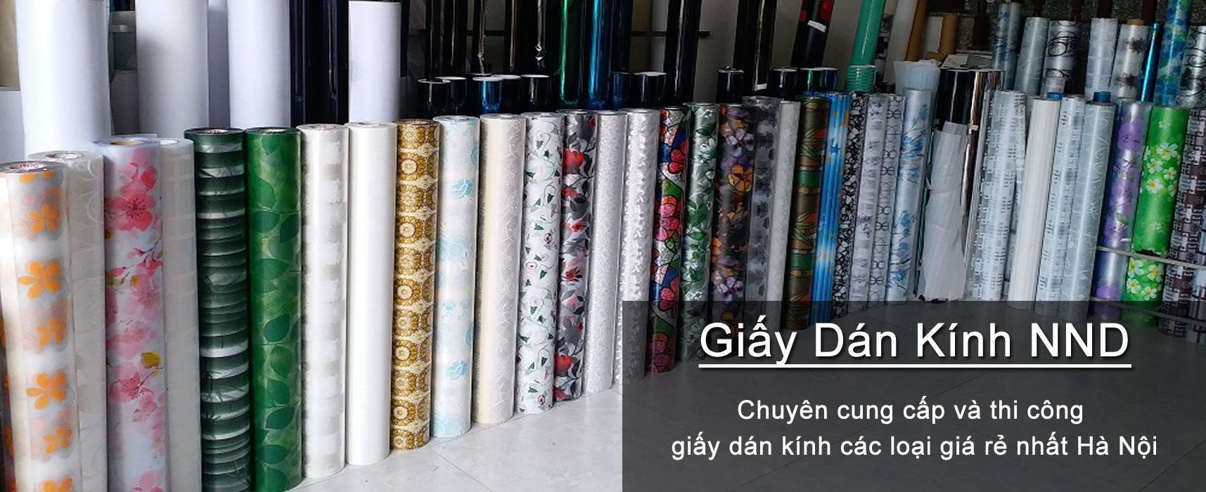 NND là địa chỉ cung cấp và thi công giấy decal dán kính uy tín nhất tại quận Thanh Xuân Hà Nội