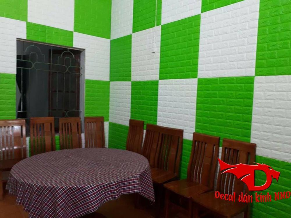 Xốp dán tường có khả năng cách nhiệt rất cao